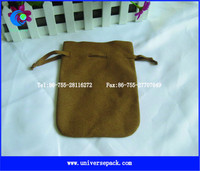 cosmetic suede pouch makeup brushes roll bag pouch