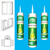 Professional neutral cure silicone sealant and adhesive for glass and window