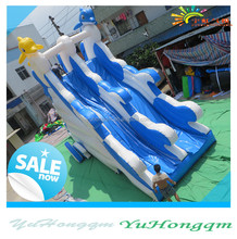 china top quality inflatable water dry slide big inflatable slides for pool