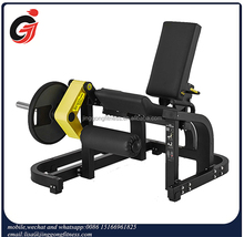 Plate load gym equipment JG-1927 leg extension fitness machine for gym clubs