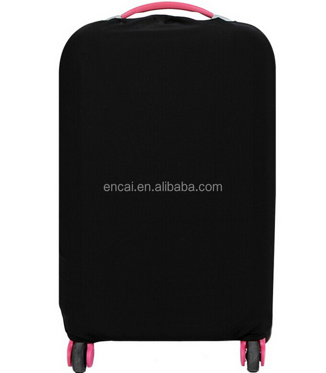 Encai Solid Colour Travel Luggage Case Cover Wholesale Luggage Protector Cover High Quality