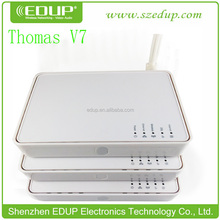 soho wireless router EDUP EP-V7 wifi wireless router 54Mbps ADSL Wireless Modem Router 4-port