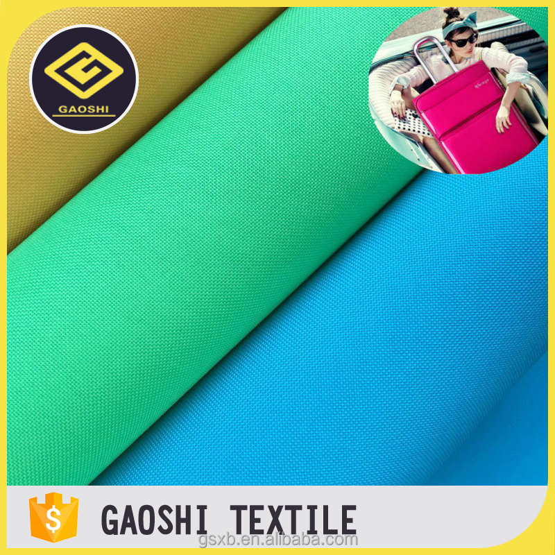 PVC Coated 600D Polyester Waterproof Oxford Fabric For Bag And Luggage
