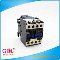 china cheap ac/dc electromagnetic electric power types 110V 220V 380V coil 3 phase 3/4 pole 50a 80a 100a circuit contactor price