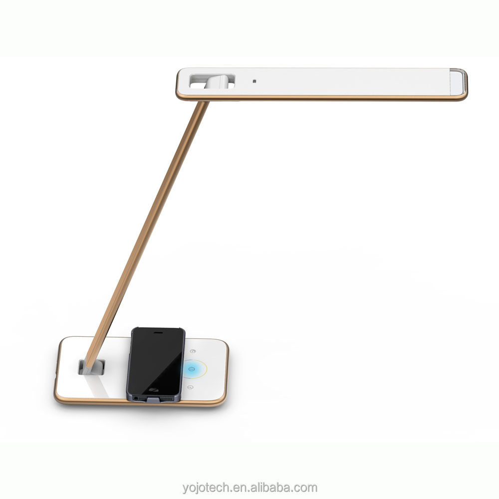 Led Wireless Charging Desk Lamp With Usb Charging Port