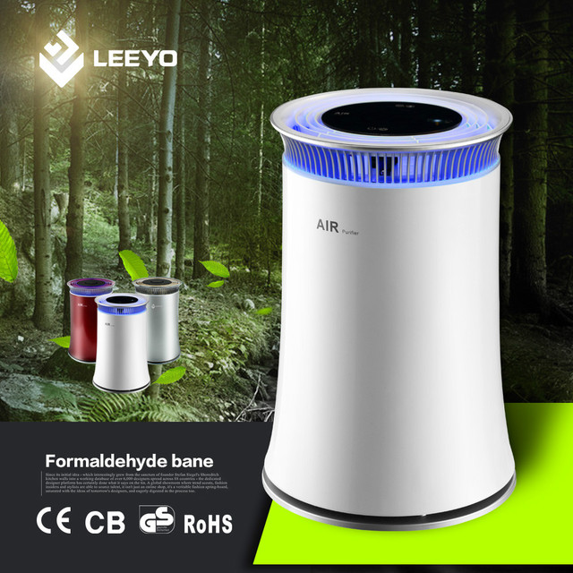 Innovative Mini Air Purifier, 2 in 1Hepa Air Purifier With Smell Sensor