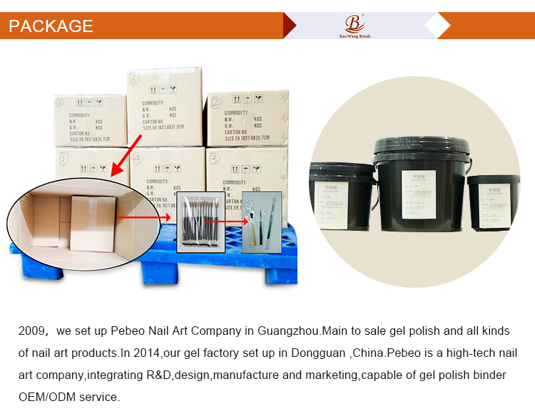 The Best China 12ml OEM quality acrylic uv gel nail form