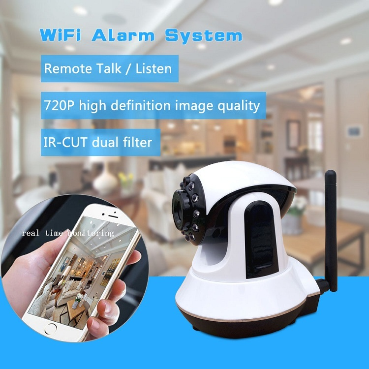 Android & IOS APP remote control WIFI GSM wireless intruder security system for home house