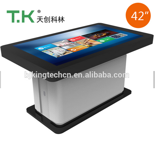 "TK-MEC81-42"" Restaurant/School Entertainment Interactive Multi Touch Screen Game/tea Table"