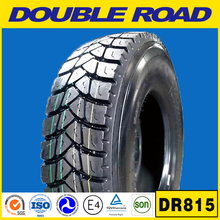 Shandong manufacturer double road brand TBR 315/80r22.5 wholesale price truck tyre made in China