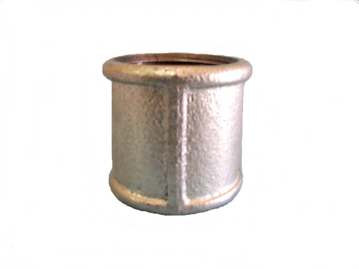 Coupling Malleable Pipe Fittings, Galvanized And Black