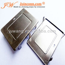 fashion logo luggage hardware stamped sheet parts