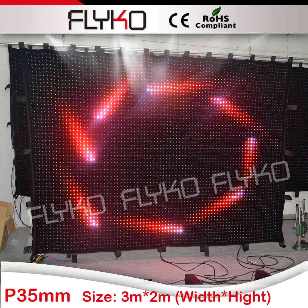 x video display soft led video curtain xx photos