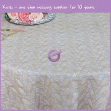 MX0008E For Party Wholesale 120 Round Wedding Tablecloth Fabric