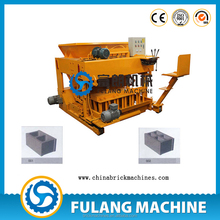 FL6-30 Factory direct sell automatic portable mobile egg layer laying hollow brick block making machine
