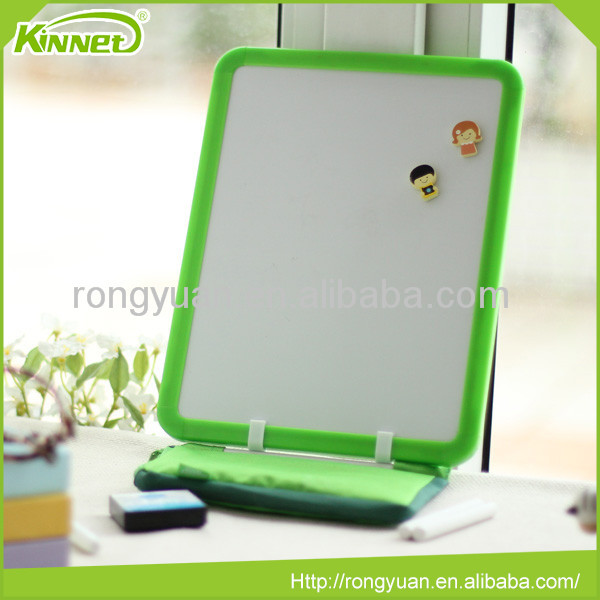 Green border magnetic sheets whiteboard