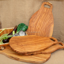 Olive Wood Feature Real Wood Cutting Board Large Size