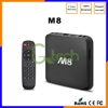 M8 Smart Android 4.4 IPTV TV BOX 2GB DDR3 8GB Quad Core Amlogic S802 2.0GHz 4K Streaming Media Stream Vedio Preinstalled XBMC m8