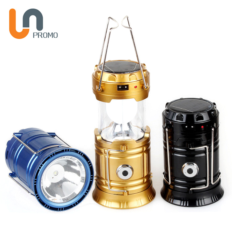 Hiking Emergencies Solar Rechargeable Camping Lantern