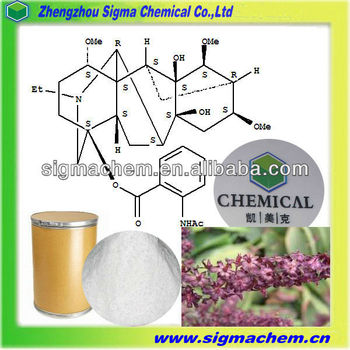 96%/98% Lappaconitine hydrobromide 97792-45-5