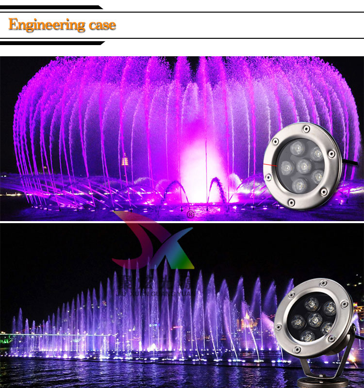 2017 Ip68 Taiwan Epistar Led Underwater Spuid Light for Swimming Pool Lihgting with EXW Price