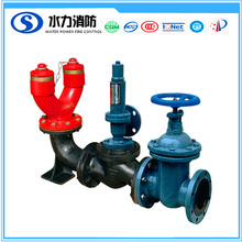 siamese connection fire water pump adapter for dispenser for firefighting system