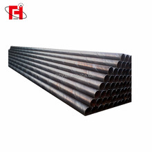 schedule 40 Q235B black carbon steel iron hollow steel pipe price per meter