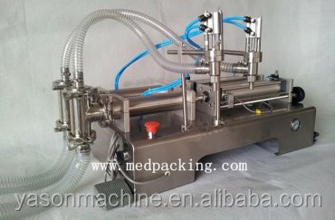 100-1000ml Double Heads Liquid Pneumatic Filling <strong>Machine</strong>