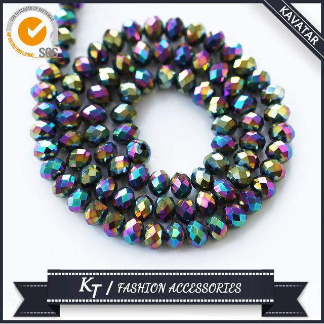 Wholesale crystal rondelle beads In Bulk