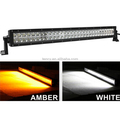 "301.5 Inch LED Work Light Bar,Mining Bar (KF-WP180D,31.5"") 180W,Double Color Amber & White"