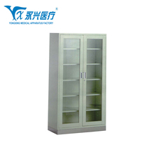 Department of Gynaecology Hengshui YONGXING D04-6 Office Furniture Used Clinic Dental Stainless Steel Medical Cabinet