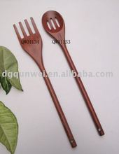 Handmade Wooden Tableware and Kitchenware Items- Fork And Ladle/spoon with slotted