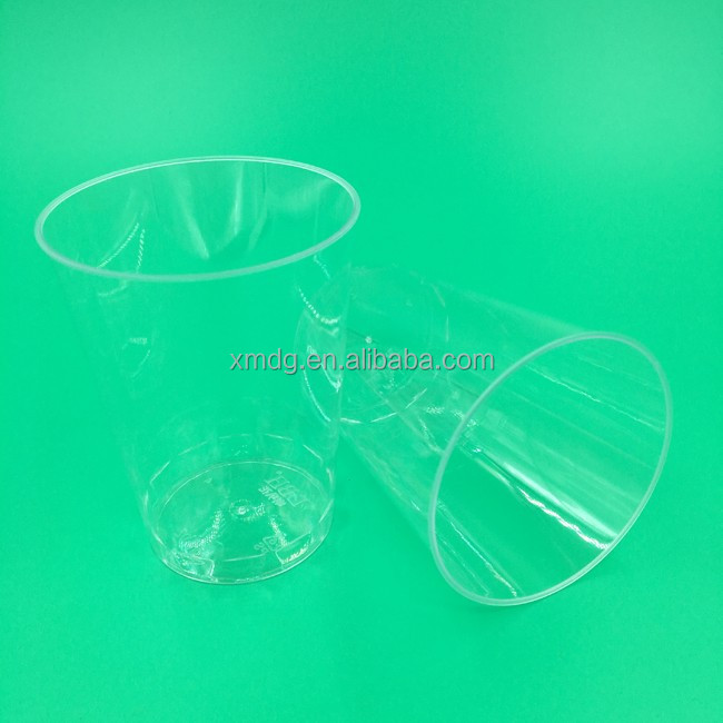 Clear and sanitary plastic cup for cupcake at factory price