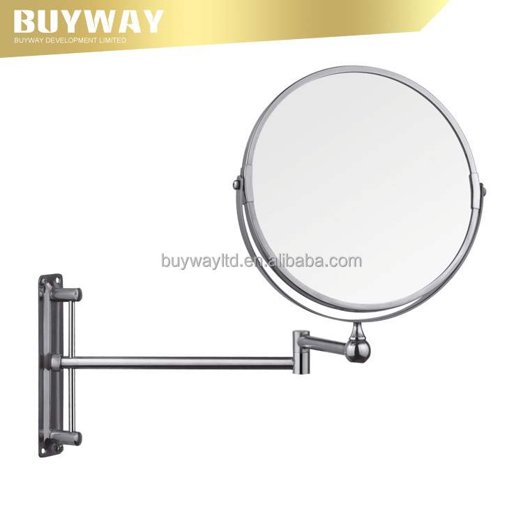 High Quality Custom Accepted Modern Decorative Swing Arm Wall makeup bathroom mirrors