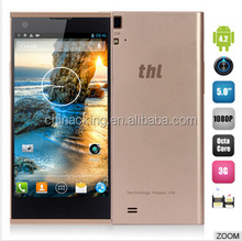 Mobile Phone MTK6592 Octa Core 5.0 Inch FHD 2GB RAM 32GB ROM NFC OTG FHD Screen 1920*1080 13MP Camera Android4.2 THL T100S
