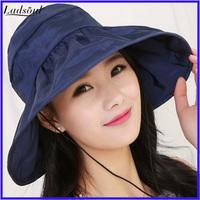 Summer Sun Cap Women Ultraviolet-proof Outdoor Foldable Sun Hat