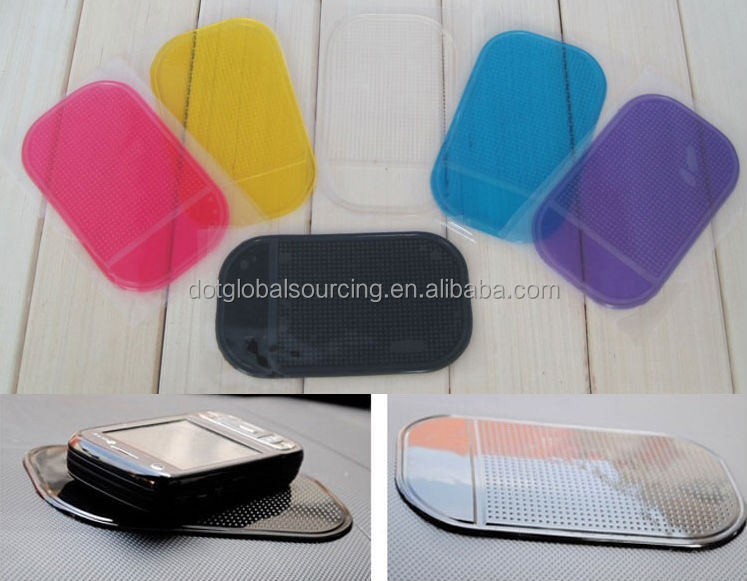 NEW Hot Wholesale Items Colorful Car Magic Grip Sticky Pad Anti Slide Cell Phone Holder Non Slip Mat Sticky