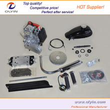 mountain bike motor Gas bike 50cc 60cc 66cc 80cc beach cruiser motor gasoline 2 stroke 48cc bicycle engine kit
