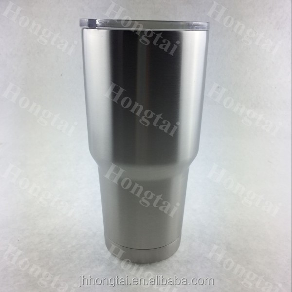 Coffee umbler 18/8 stainless steel,leak-proof with matt rubber finish