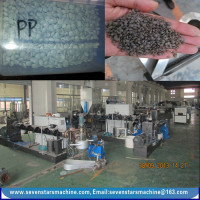 500KG PE PP film bottle plastic granule making machine