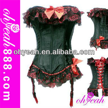 Paypal accept hot sale overbust sexy bustiers big girl sexy corset