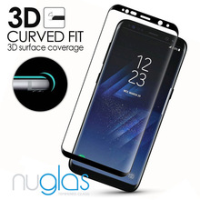 factory supply perfect fit tempered glass for samsung galaxy s8 screen protector 9H mobile phone accessory screen guard