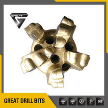 5 wings PDC drilling bits/ drag bits/ blade bits used for water well