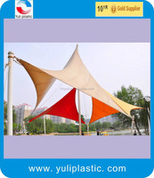 High strength PVC coated tarpaulin fabric for tent and covers