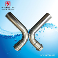 High quality stainless steel pipe fittings elbow manufacture