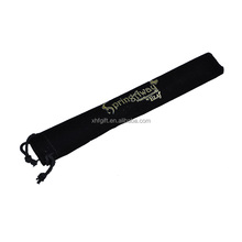 black velvet pen pouch with custom printing logo wholesale