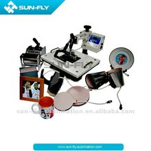 8 in 1 Mug Heat press machine Sublimation 8 in 1 Cup Combo Machine (SFS-M06B)