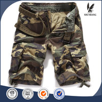 summer casual loose camo sand beach used straight tube mens shorts
