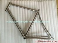 Customized titanium S&S coupler road frame with the coupler install