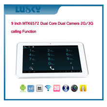 OEM Factory 9 inch wifi mid dual core 3g calling tablet pc with all function
